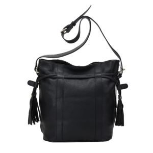 Amy Bucket Leather Handbag