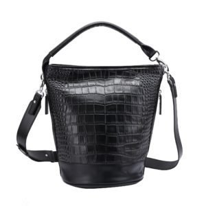 Beaky Bucket Leather Handbag