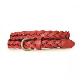 Carol Leather Belt - Rust