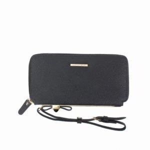 Jenna Wristlet Leather Wallet