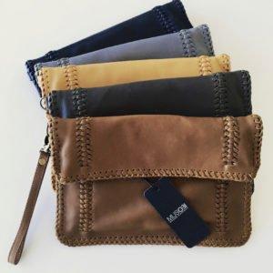 Havovi Leather Clutch