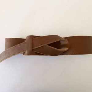 Knot Leather Belt