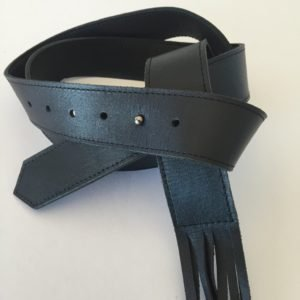 Fringe Leather Belt