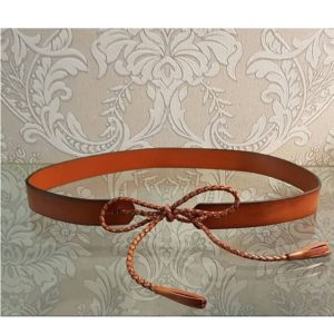 Darlinghurst Leather Belt -Tan
