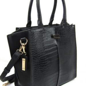 Hex Handbag Black