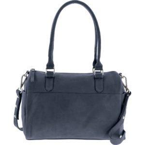 Hilton soft leather handbag_denim