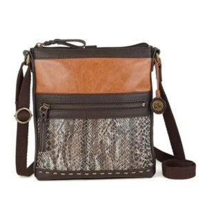Pax leather swing bag-snake