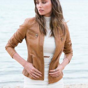 New York jacket_Dark Tan