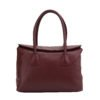 Crave leather tote_burgundy