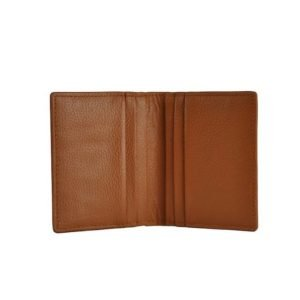 Leather Card Holder_Tan