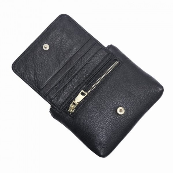 Leather Coin Purse_open