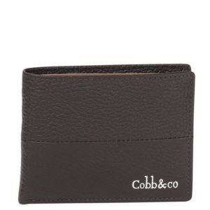 Bifold Leather wallet_brown