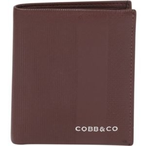 Ted RFID Leather Wallet-Brg