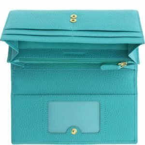 Amiya Leather Wallet_turquoise2