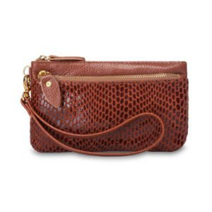 Anya Leather Wallet Tan