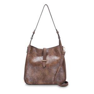 BELIA Shoulder Bag CHESTNUT