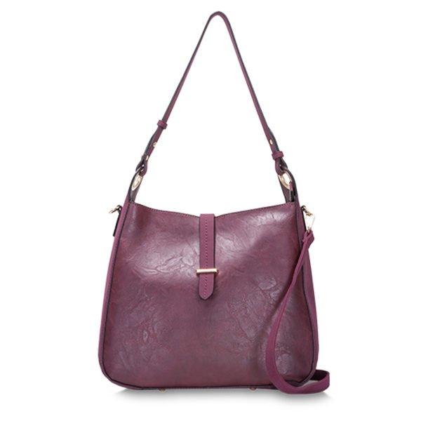 BELIA Shoulder Bag Plum