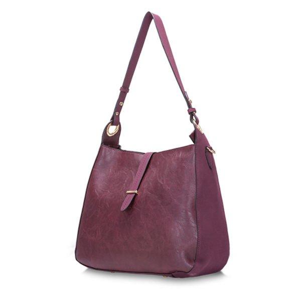 BELIA Shoulder Bag Plum 1