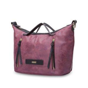 Nelo Handbag Berry 1