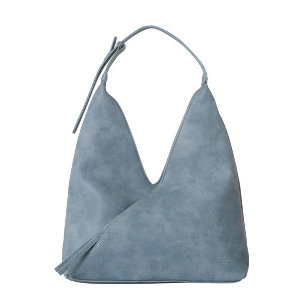 Tatiana 3 piece shoulder bag set _SilverBlue