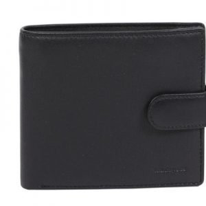 Mens Vintage Leather Wallet_Blk