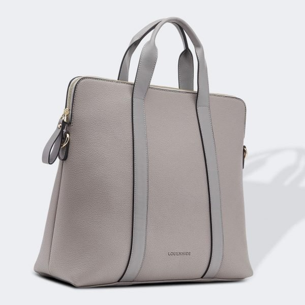 Rhodes laptop Bag _ Grey1