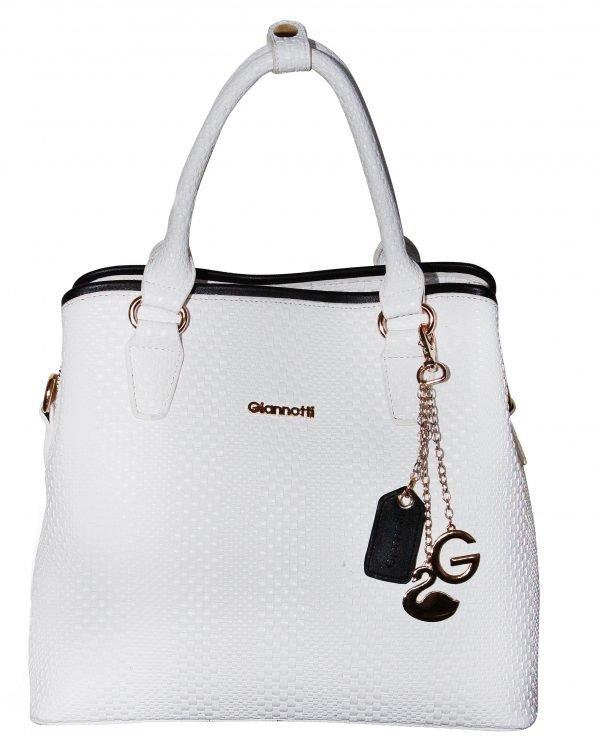 Giannotti Shoulder Bag_White