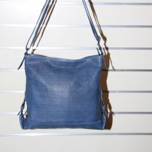 Giannotti Leather Shoulder Bag_Blue
