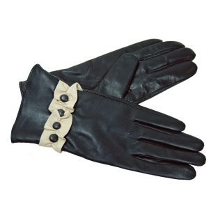 Ruffle Button Glove